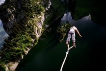 ... in einer Schweizer Bergsee.