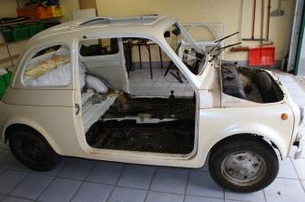 Fiat 500 vorher