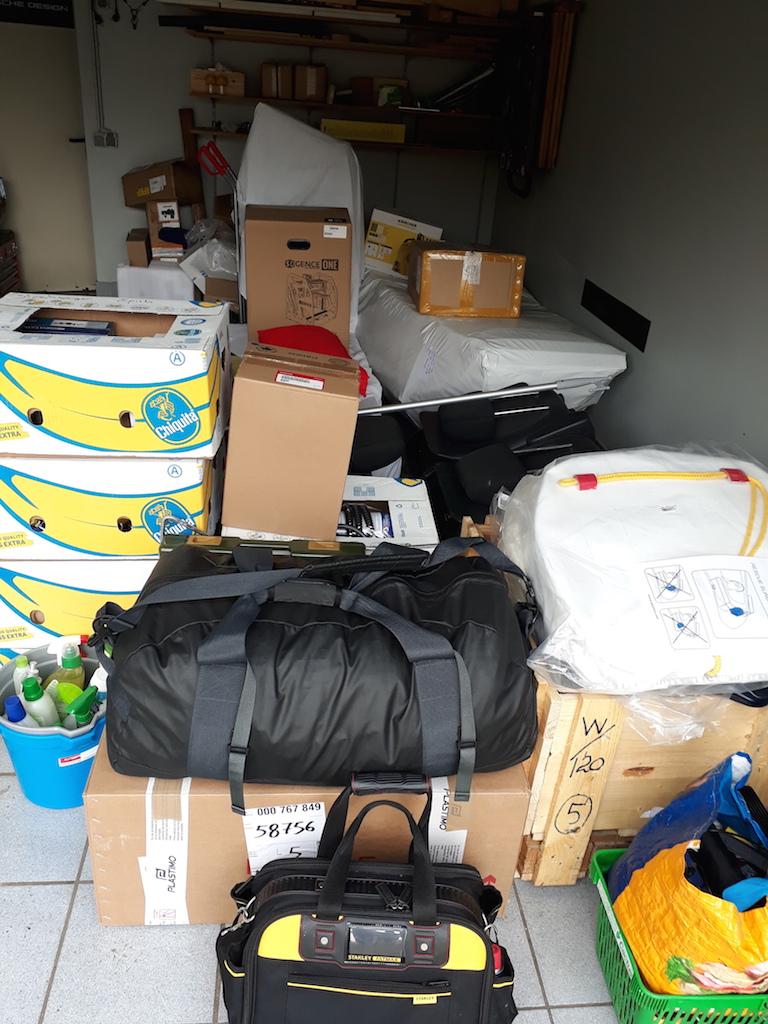 Garage voll Equipement